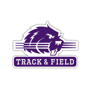 Bluffton Track & Field Decal - M15