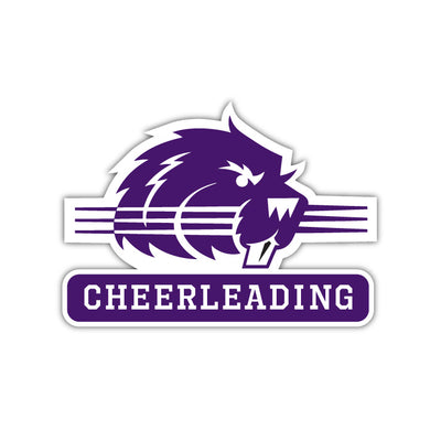 Bluffton Cheerleading Decal - M19