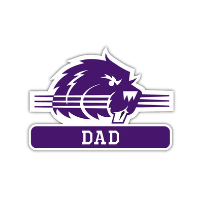 Bluffton Dad Decal - M2