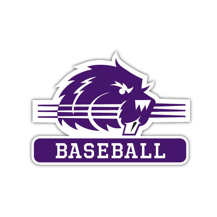 Bluffton Baseball Decal - M7