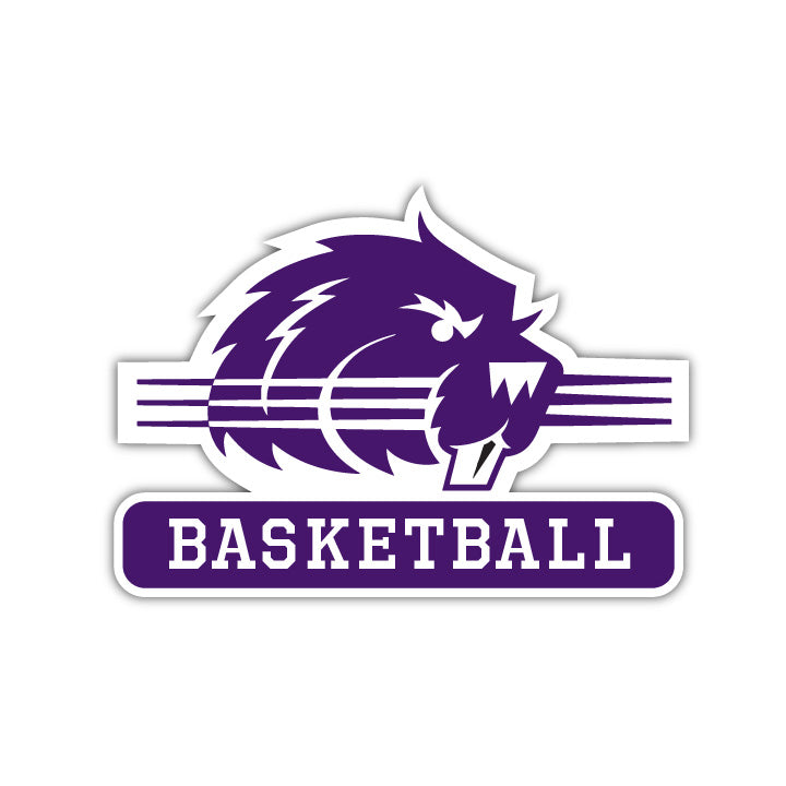 Bluffton Basketball Decal - M8