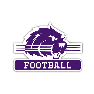 Bluffton Football Decal - M9