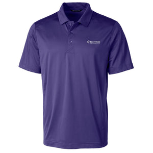 Cutter & Buck Men's Prospect Polo, Purple