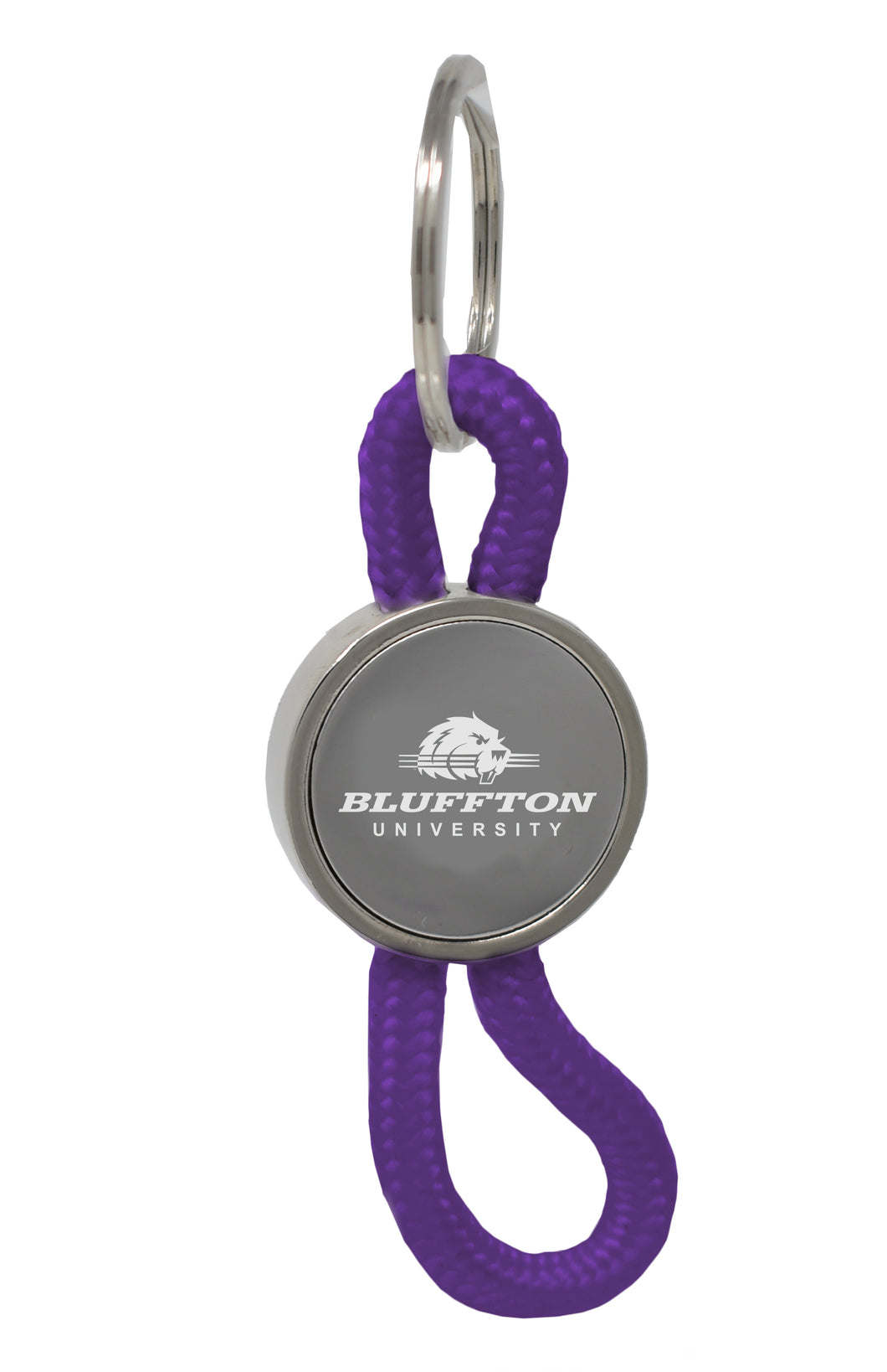 LXG Disc Rope Keychain, Purple