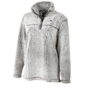 Boxercraft Sherpa Quarter Zip, Frosty Grey