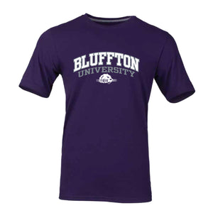 Russell Men's Essential Short Sleeve Tee, Purple