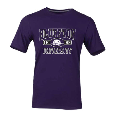 Russell Youth Essential Short Sleeve Tee, Purple