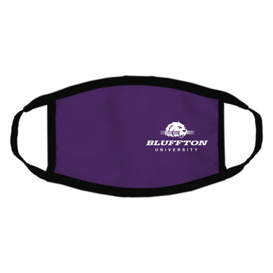 Spirit Apparel Newbury Face Mask, Purple