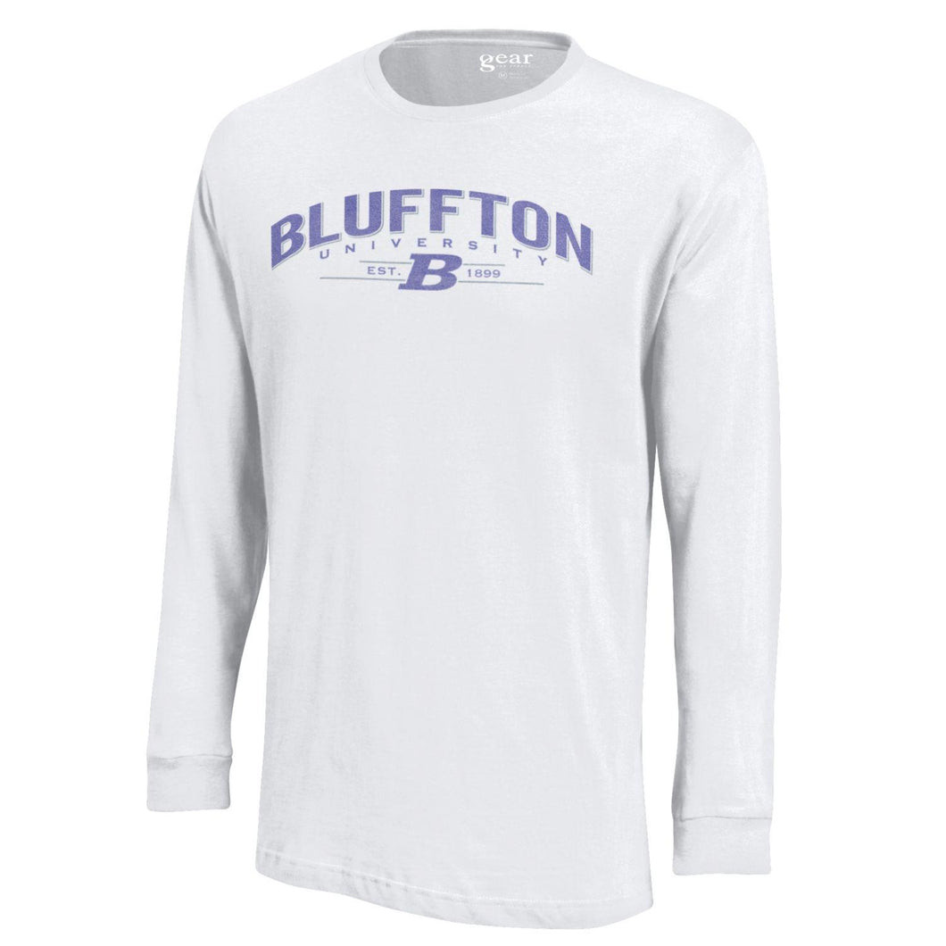 Gear Men's Soft Long Sleeve Tee, White