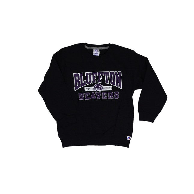 Russell Youth Fleece Crew, Black