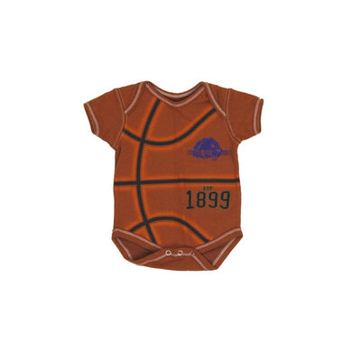 College Kids Basketball Bodysuit, Orange