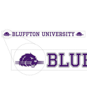 Bluffton University Bar Decal - D5