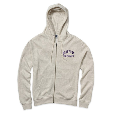 MV Sport Retro Heather Full Zip, Oatmeal