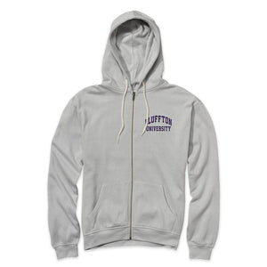 MV Sport Retro Heather Full Zip, Pelican