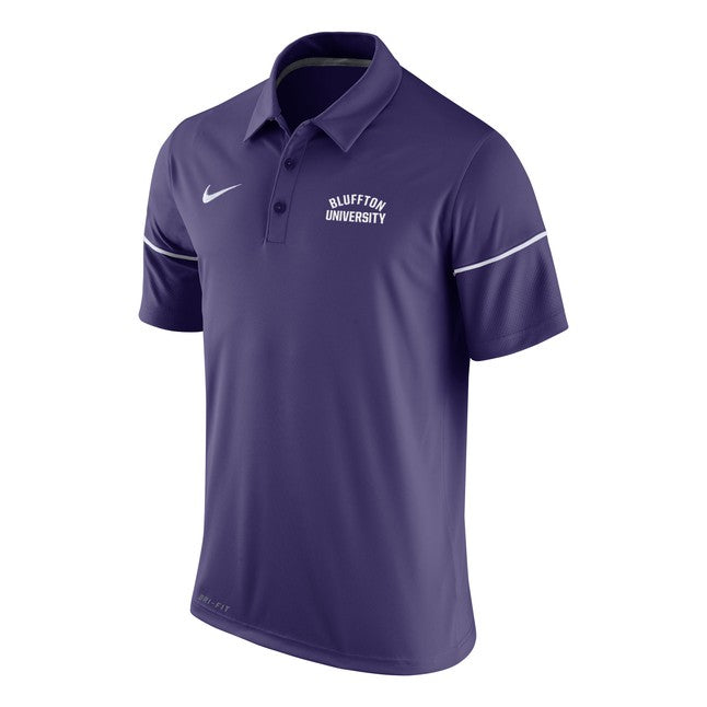 Nike Men's Team Issue Polo, Purple