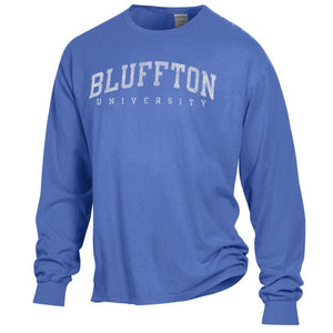 Comfort Wash Long Sleeve Tee, Deep Forte