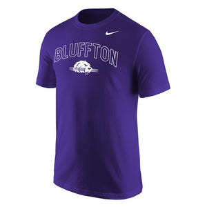 Nike Men's Core Cotton Tee, Purple