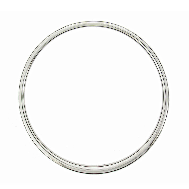 Classic Silver Tapering Bangle