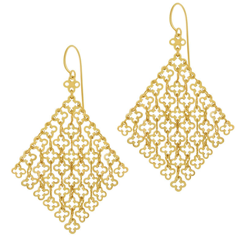Talitha Gold Statement Earrings