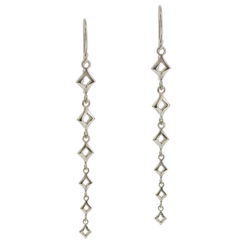 Almaz Long Drop Earring