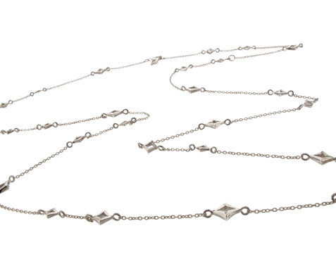 Almaz Long Chain Necklace