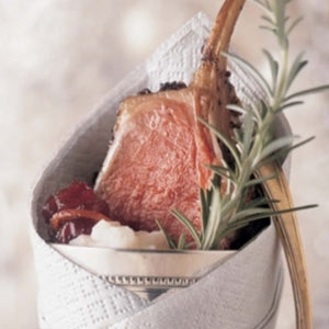 Rack Of Lamb With Orange-Cranberry Chutney