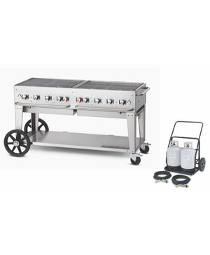 "Crown Verity 60"" Professional Series Club Grill"