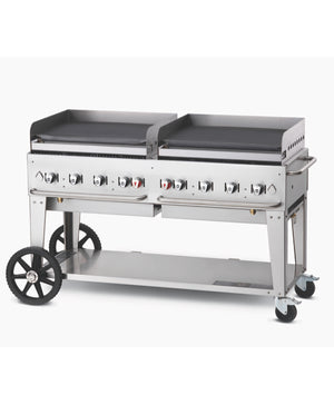 "Crown Verity 60"" Professional Series Mobile Griddle"