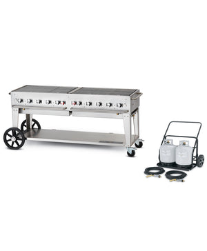 "Crown Verity 72"" Club Series Grill"