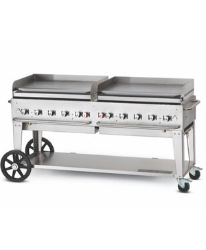 "Crown Verity 72"" Professional Series Mobile Griddle"
