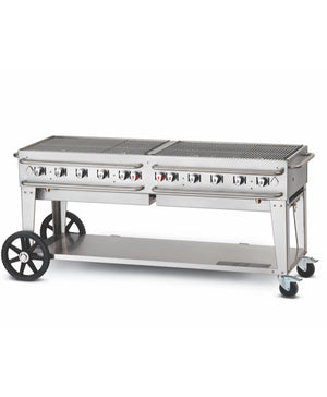 "Crown Verity 72"" Professional Series Rental Grill"