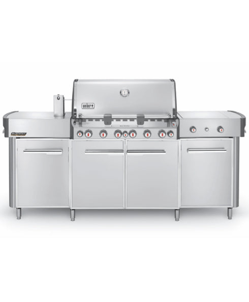 Weber Summit® Grill Center Stainless Steel