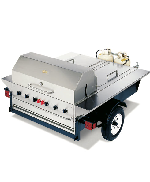 Crown Verity Towable Grill With Storage