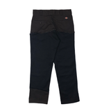 Abstract Work Pants - Black