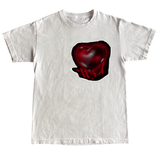 Love Struck Tee - White