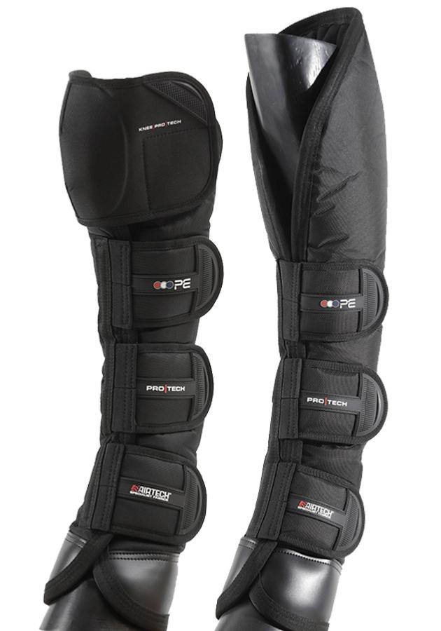Ballistic Knee Pro-Tech Horse Travel Boots