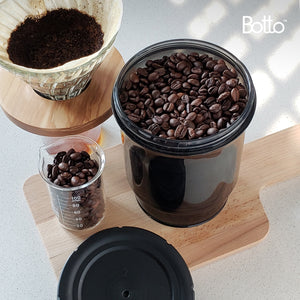 4-pc Starter Set Botto™: The Adjustable Container (Clear+Blocks UV) Just Press & Store (14% Off)