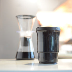 Botto™: The Adjustable Container 1.0 Pro (Blocks UV) Just Press & Store Coffee