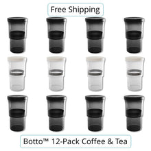 Load image into Gallery viewer, 12-pc Coffee & Tea Set Botto™: The Adjustable Container Just Press & Store (27% Off)