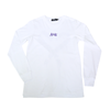Spray Heart White L/S Tee