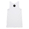 Women's White Graffiti Tank