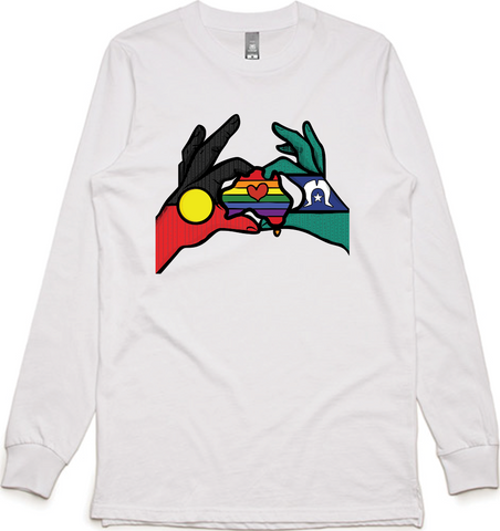 'Better Together' Long Sleeve Tee