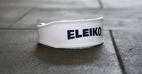 Eleiko Weightlifting Belt - White