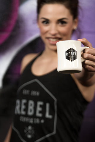 Rebel Coffee Co. Diner Mug