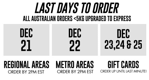 Last Days to order at The WOD Life