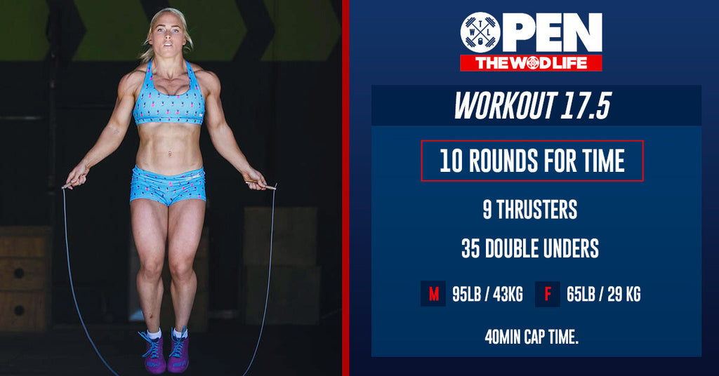 CrossFit Open Workout 17.5
