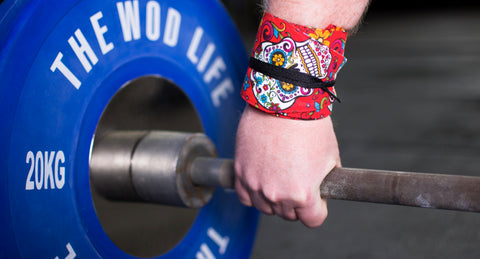Custom WOD Wraps - Red Sugar Skull