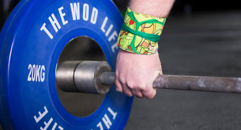 Custom WOD Wraps - Teenage Mutant Ninja Turtles