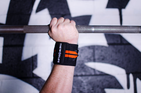WOD Wrist Wrap 2.0 - Black/Orange