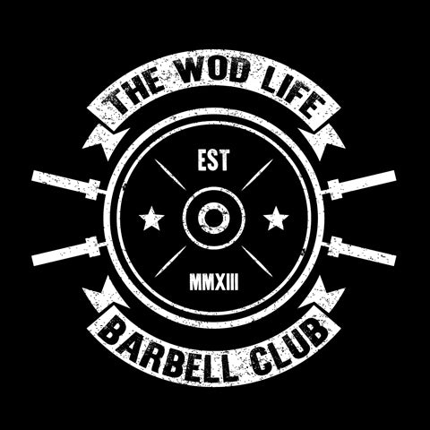 The WOD Life - Barbell Club 2.0 - Back - White